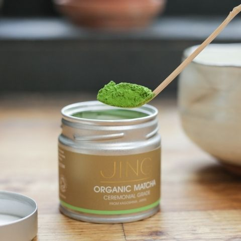 Look out for matcha that's vibrant green in colour – a true indication of its supreme freshness.