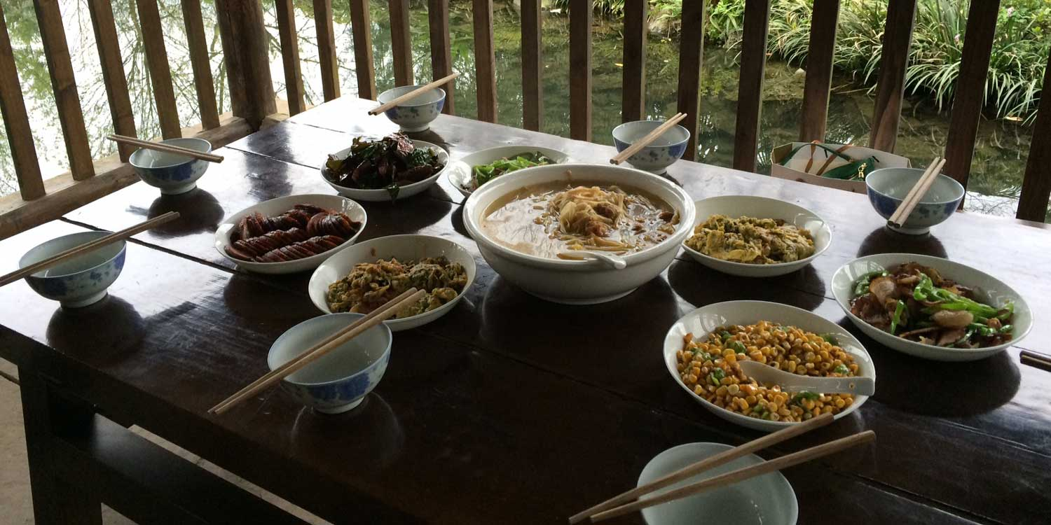 Spread of Chinese Food