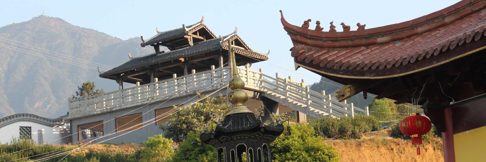 Hu Ming Temple in Zhejiang China
