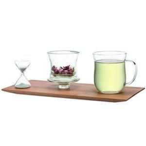 Complete JING Infuser Mug Set on an Uplift Tray
