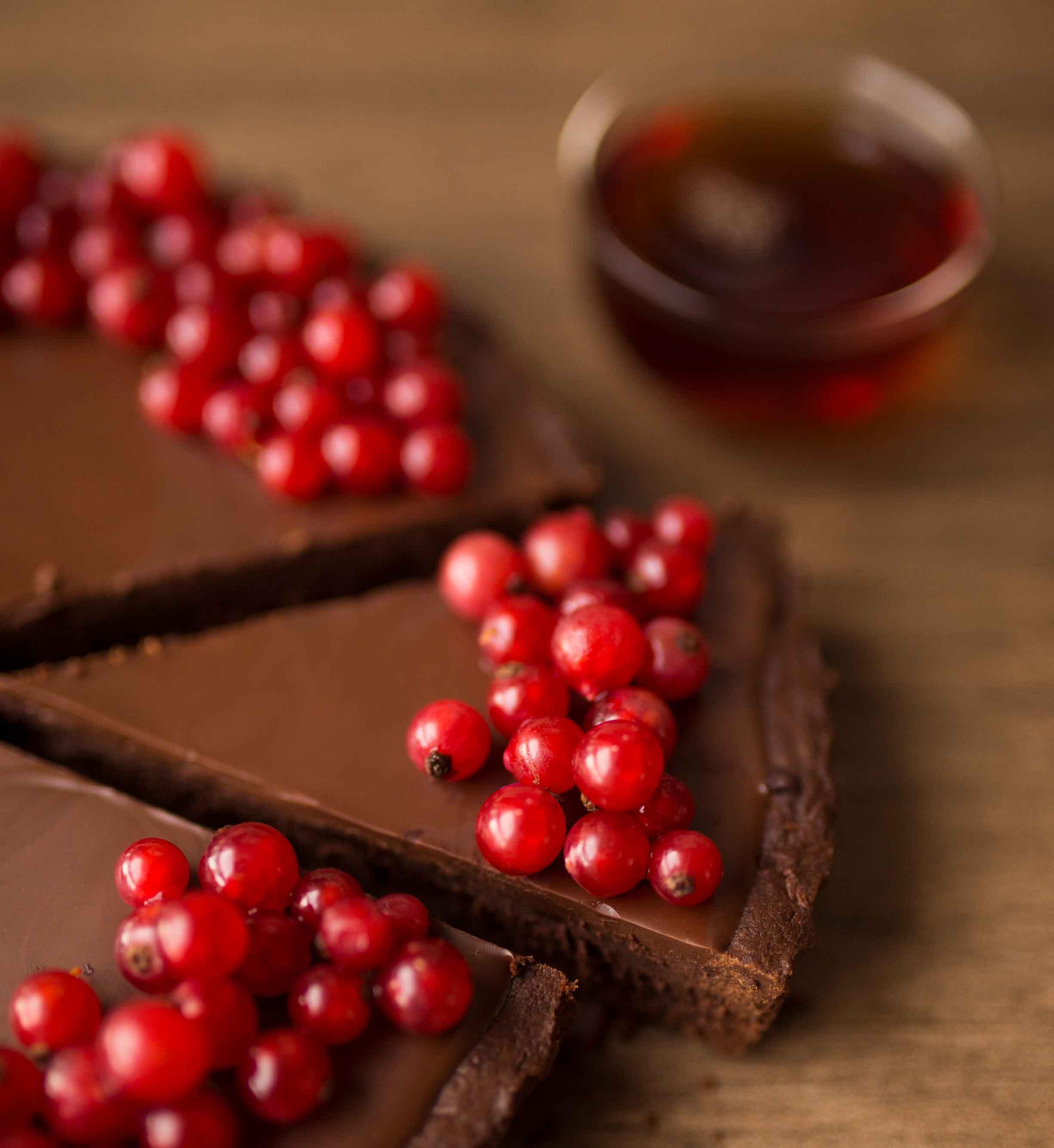 A tea recipe for Vanilla Black and chocolate.