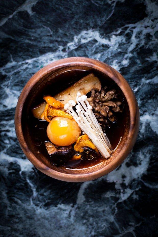 Yunnan Gold Tea Pairing Recipe from Rob Roy Cameron Michelin Star Chef