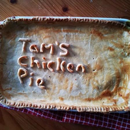 Tam's Chicken Pie