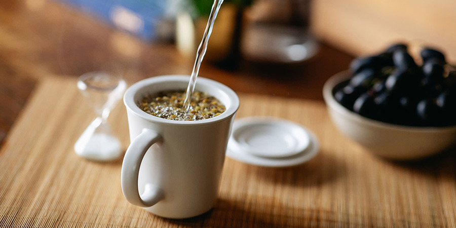 Try Chamomile Flowers to relax in the evenings.