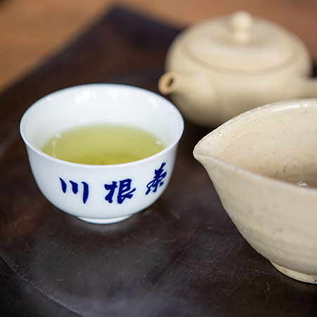 Sencha tea is as green tasting as it looks - it's marine like, savory and sweet and supremely refreshing.