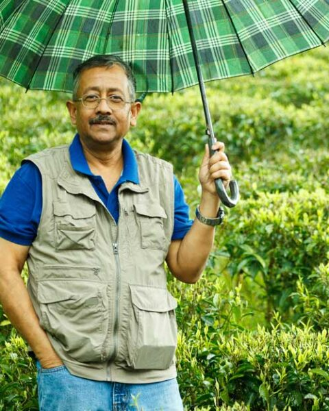 Subroto Sen, Manager of Badamtam Garden for the last sixteen years he over saw the production switch to organic more than ten years ago
