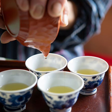 Don't forget the golden drops! Advice from Mr Miyazaki on getting the best flavour from his Gyokuro.