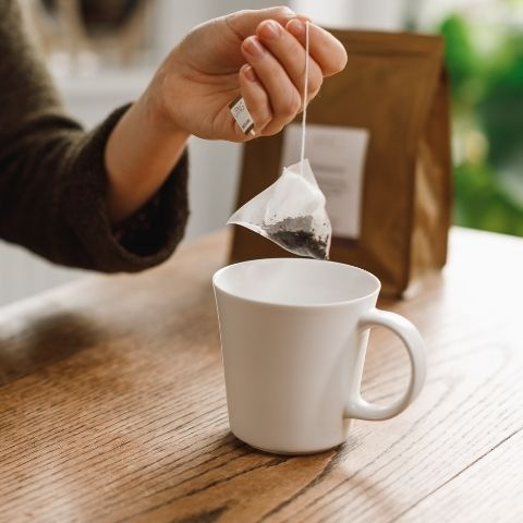 Making sure you use plastic free teabags is important, not only for your health but also for the environment.
