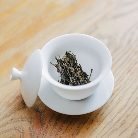 Puerh is often enjoyed for its immersive quality, usually made gong fu style in a gaiwan over a long session of many infusions.