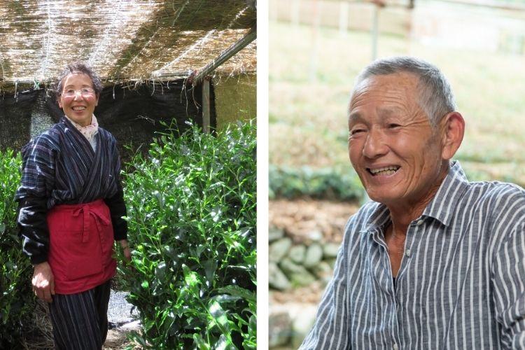 Making Gyokuro tea is a family affair high up in Asahina Valley in Shizuoka, Japan, for Mr and Mrs Miyazaki.