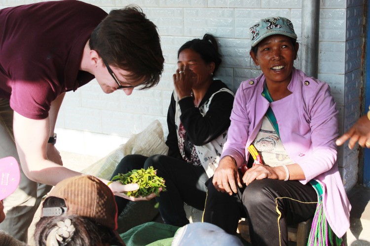 Tom meets the locals while searching for black tea in Yunnan, back in 2015.