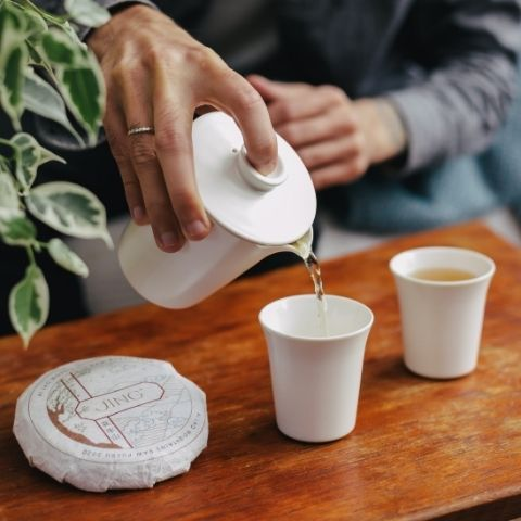 Try a gong fu tea session with our Tea Master and fully experience the depth of flavour of puerh tea.