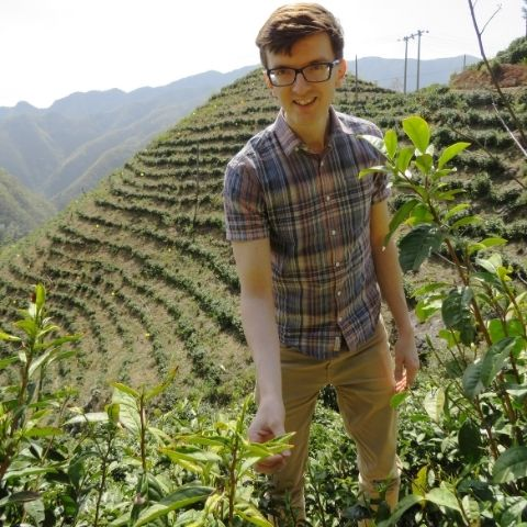 om in Hangzhou, China - During peak season we'd normally be visiting our organic producers to see how their tea gardens are doing.