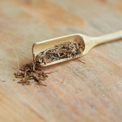 The stems used for Hojicha are naturally low in caffeine and the level is further reduced by roasting too.