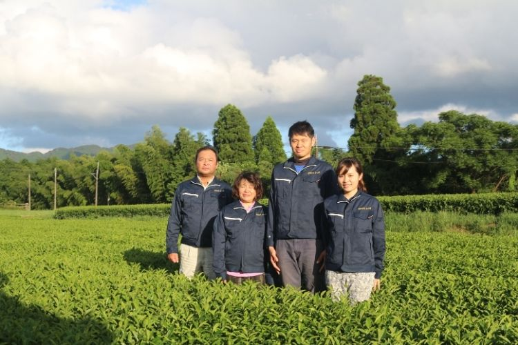 After seeing his family affected by illness, Mr. Yamaguchi switched to organic to protect his children and his tea bushes.