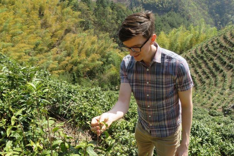 Me in Yong'an Garden in Hangzhou, China in spring 2019.