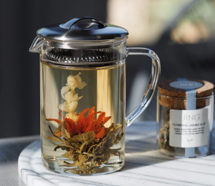 Flowering Jasmine & Lily Tea Gift Set