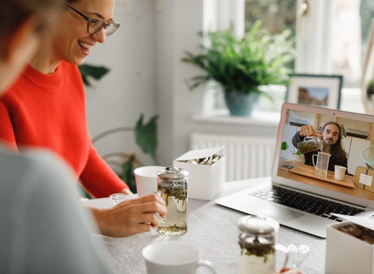 JING Virtual Tea Flight Perfect for tea lovers