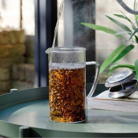 Spiced Bircher Museli | Organic Yunnan Breakfast Tea Pairing