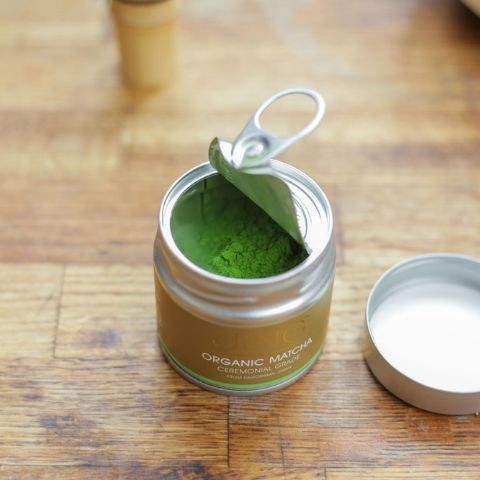 Our Organic Ceremonial Matcha creates a naturally rich taste with floral notes and deep, vegetal umami