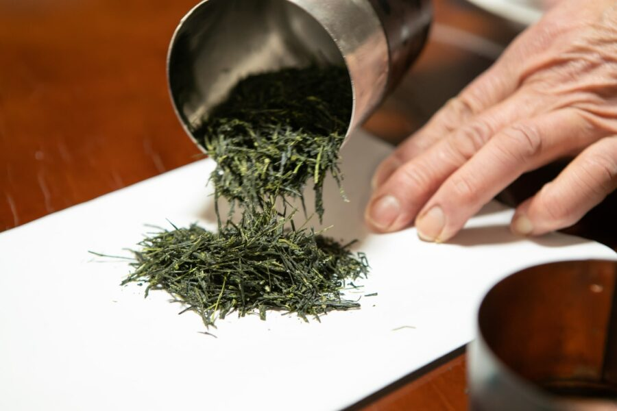 Once steam and rolled, the result is a smooth, floral and intense umami experience from this traditionally crafted Gyokuro green tea