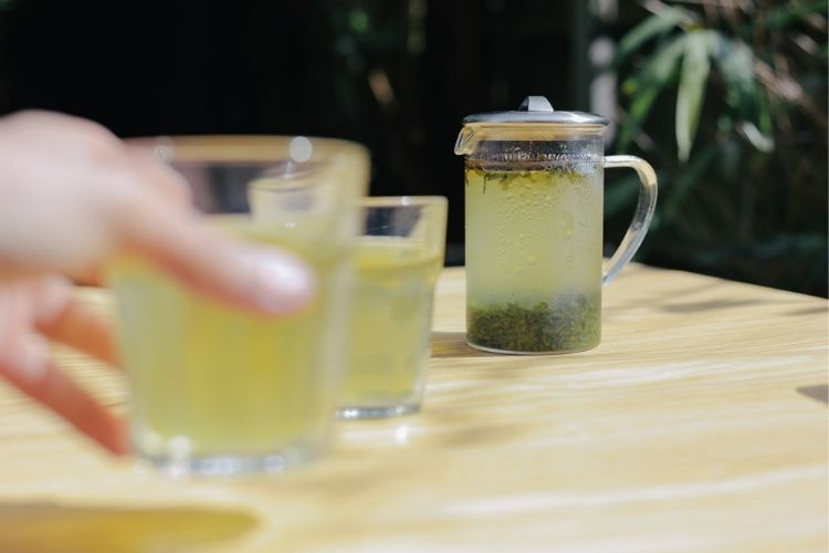 It's as simple as adding cold water to your leaves and leaving them to infuse for two to eight hours.