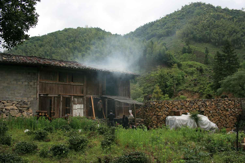 Smokehouse for the Organic Bohea Lapsang