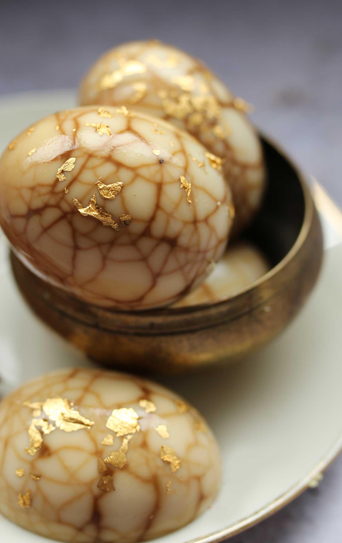 A recipe for JING tea eggs.