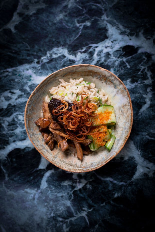 Ali Shan Oolong Tea Pairing Recipe from Rob Roy Cameron